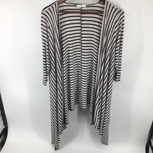 Reborn J Striped Cardigan